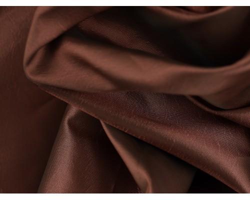 Two ToneTaffeta Fabric - Copper Pink