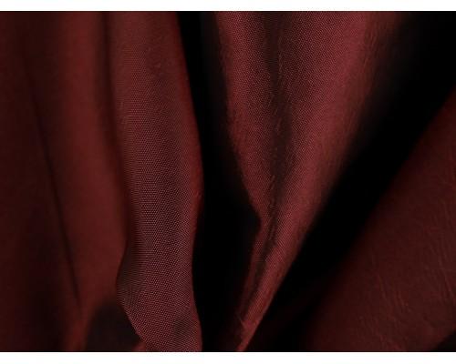Two Tone Taffeta Fabric - Rouge