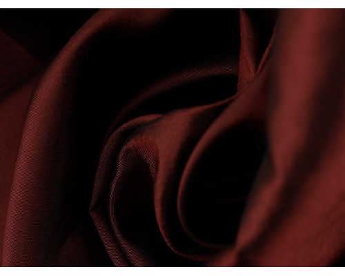 Two Tone Taffeta Fabric - Rouge