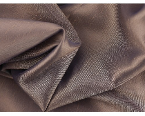 Two Tone Taffeta Fabric - Silver