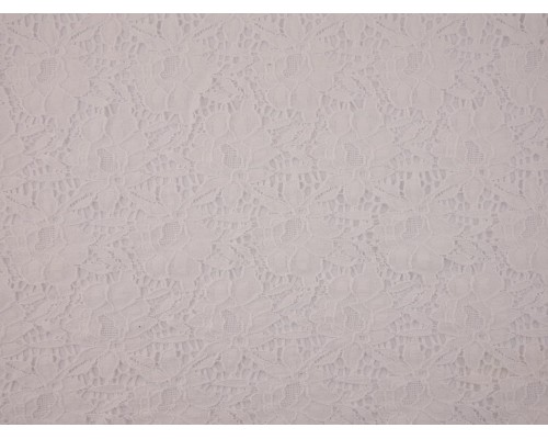Lace Fabric - White
