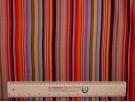 Single Jersey Printed Fabric - Multi Stripe