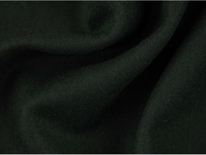 Woven Wool Coating Fabric - Bottle Green