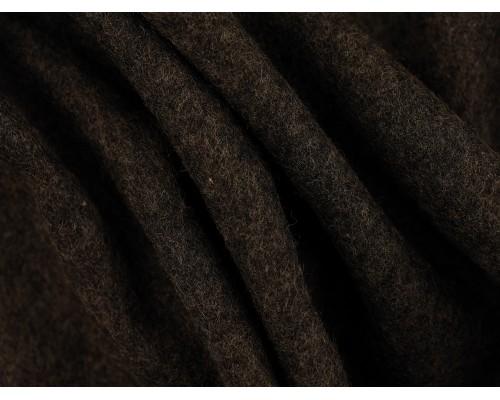 Woven Wool Coating Fabric - Charcoal
