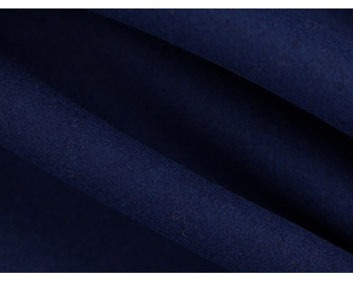 Woven Wool Coating Fabric - Ink