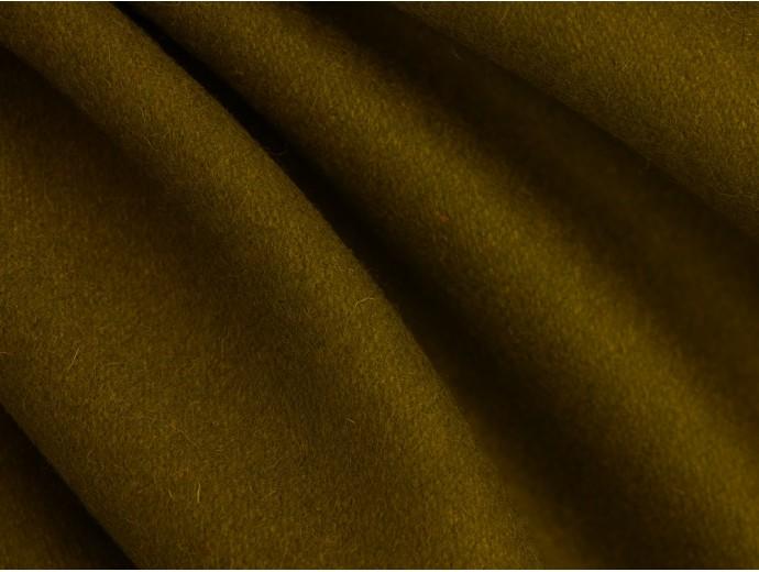 Woven Wool Coating Fabric - Lime