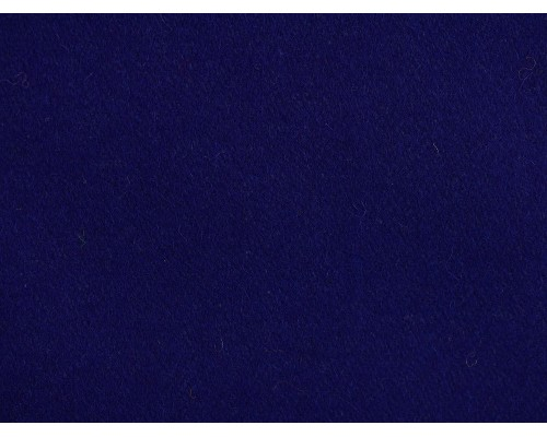 Woven Wool Coating Fabric - Mazarine Blue