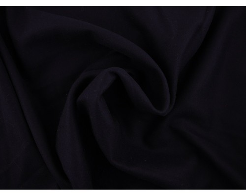 Woven Wool Coating Fabric - Navy