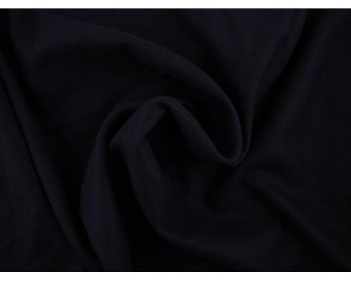 Woven Wool Coating Fabric - Navy