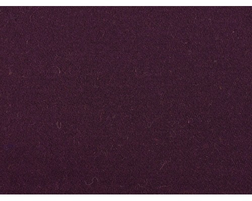 Woven Wool Coating Fabric - Aubergine