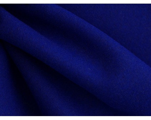 Woven Wool Coating Fabric - Royal