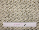 Printed Cotton Lawn Fabric - Olive Leaf