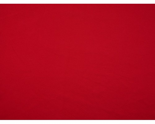 Double Jersey Interlock Fabric -Cardinal Red