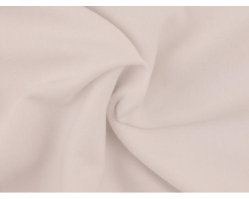Double Jersey Interlock Fabric - White