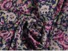 Printed Cotton Lawn Fabric - Multi