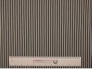 Double Jersey Ottoman Rib Stripe Fabric - Black / White
