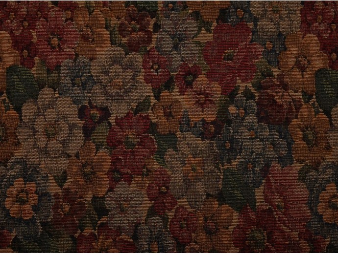 Tapestry Fabric - Tudor Flowers
