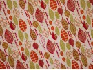 Canvas Fabric - Autumn Leaves