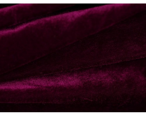 Stretch Velour Fabric - Grape Juice