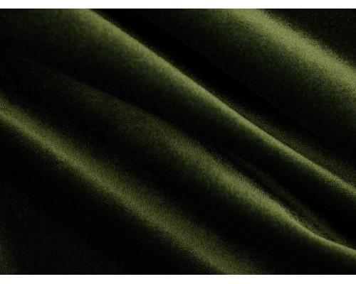 Stretch Velour Fabric - Khaki