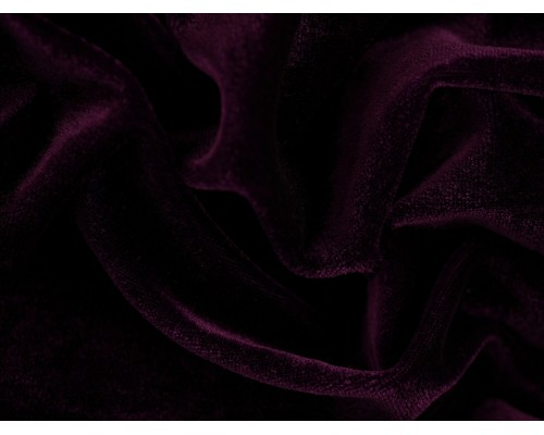 Stretch Velour Fabric - Purple