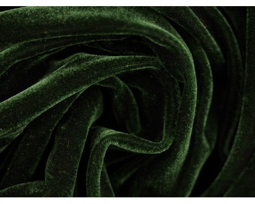 Stretch Velour Fabric - Sycamore