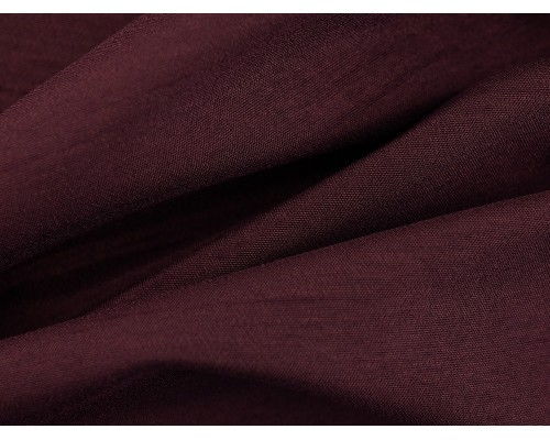 Woven Polyester Slub Fabric - Grape