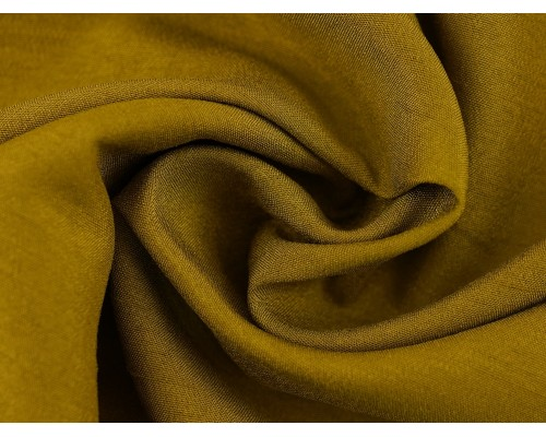 Woven Polyester Slub Fabric - Moss