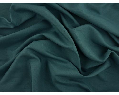 Woven Polyester Slub Fabric - Teal