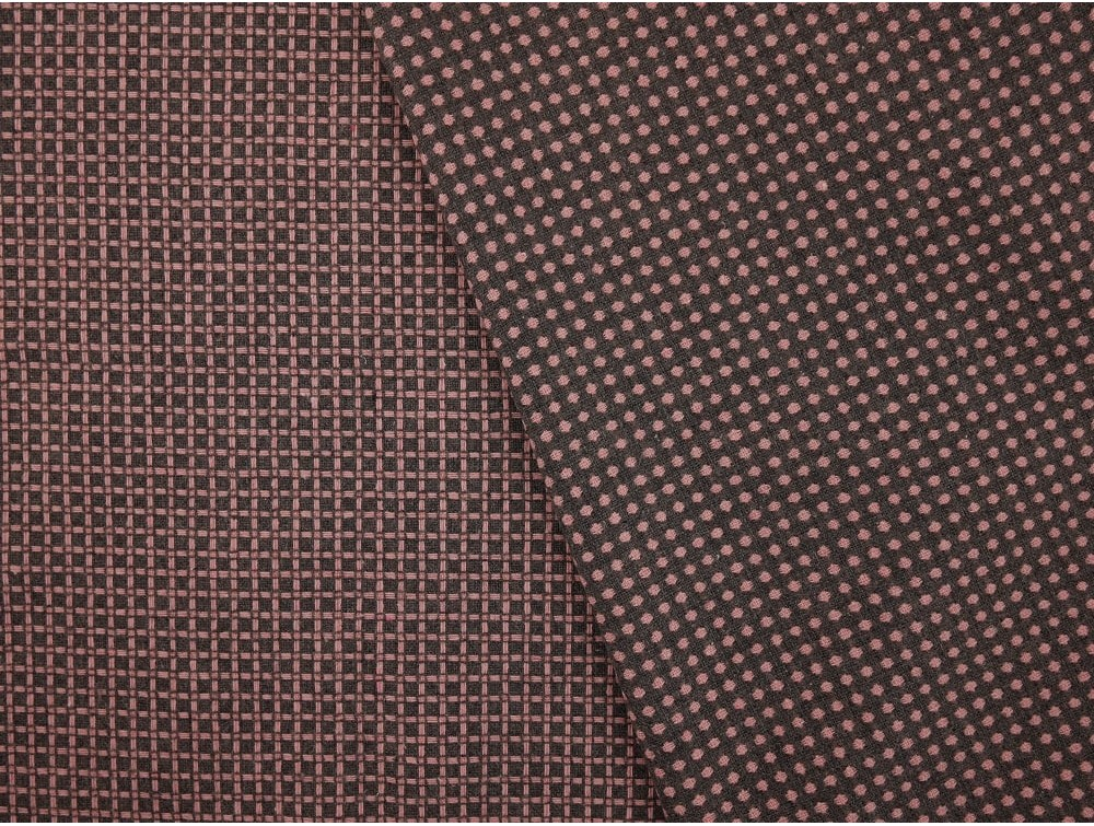 Woven jacquard fabric pink and grey for Jacquard fabric
