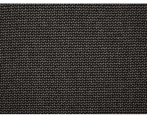 Woven Jacquard Fabric - Black and White Mosaic