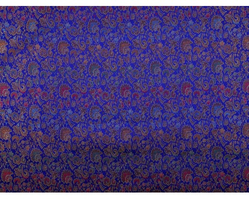 Chinese Design Jacquard Fabric - Royal