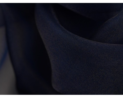 Crystal Organza Fabric - Navy