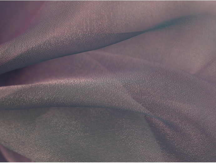 Crystal Organza Fabric - Pale Lilac