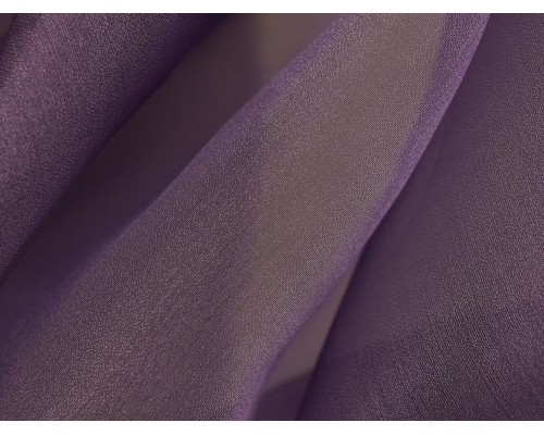 Crystal Organza Fabric - Violet