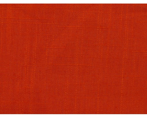 Linen Fabric - Burnt Orange