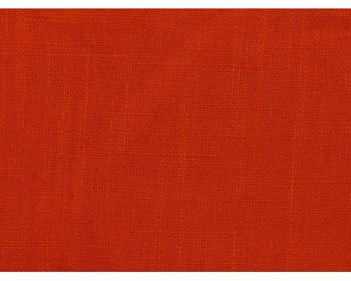 Linen Fabric - Burnt Orange