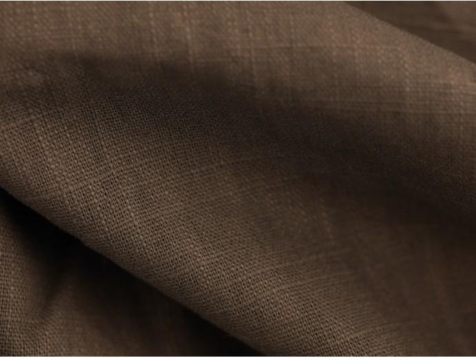 Linen Fabric - Dark Grey