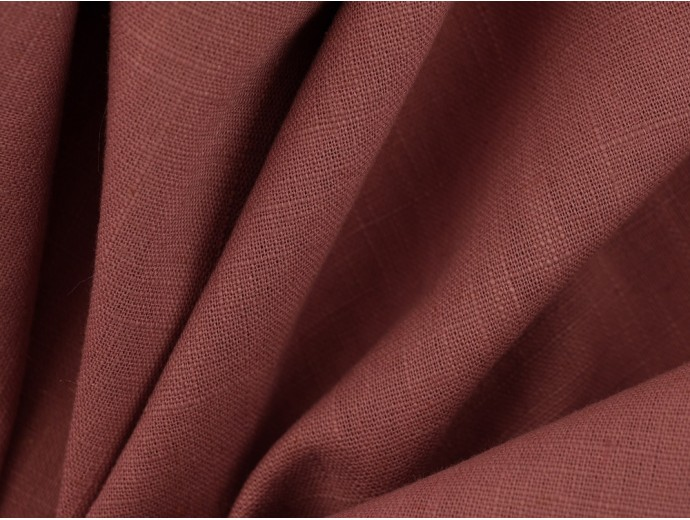 Linen Fabric - Dusty Pink