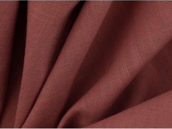 Linen Fabric - Dusty Pink