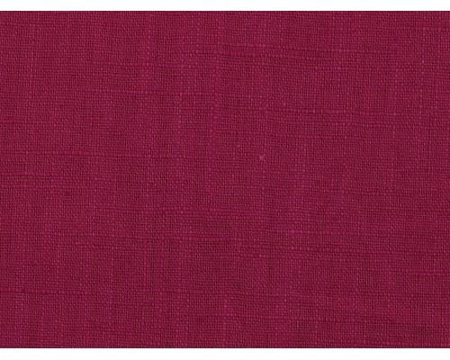 Linen Fabric - Raspberry