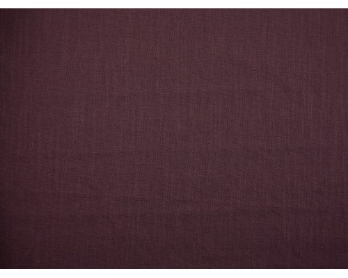 Linen Fabric - Grape