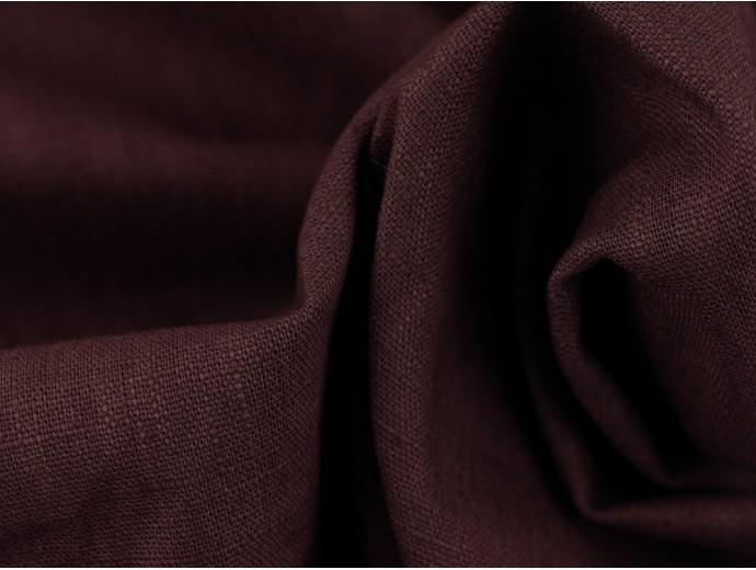Linen Fabric - Grape