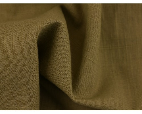 Linen Fabric - Light Khaki
