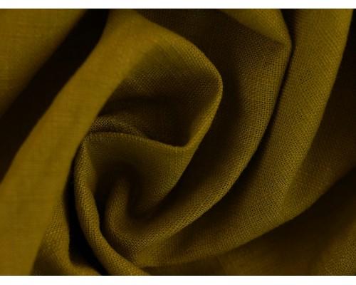 Linen Fabric - Moss