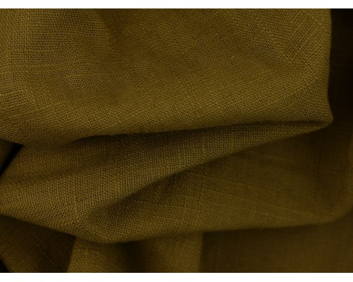 Linen Fabric - Olive