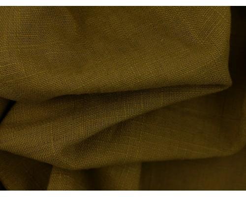 Linen Fabric - Olive