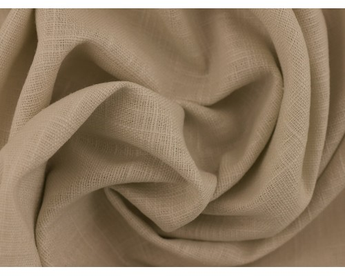 Linen Fabric - Silver