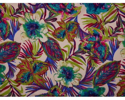 Panama Viscose Fabric - Holiday
