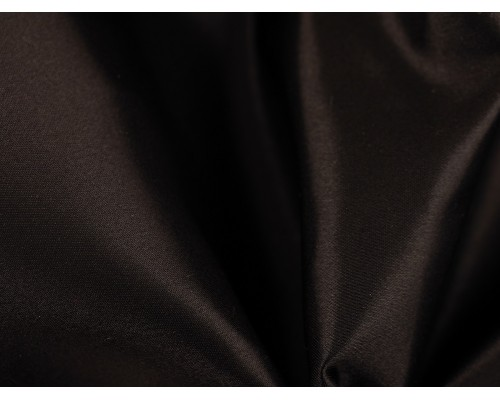 Duchess Satin Fabric - Black